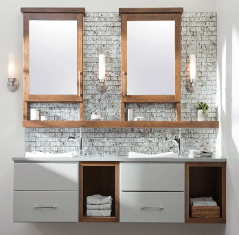 Bathroom vanities in san francisco gilmans - Semi custom bathroom vanity cabinets ...