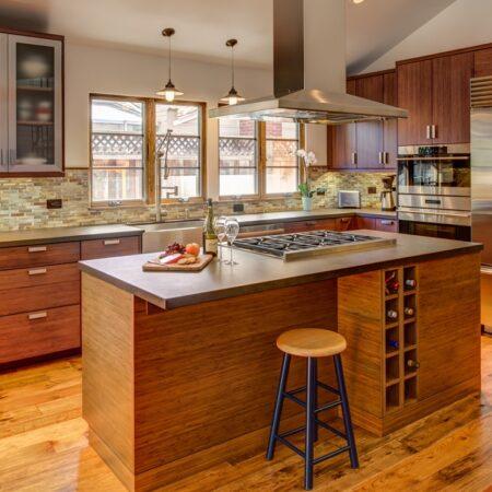 Gilmans Kitchens and Baths Sunlight Brown Kitchen Cabinets