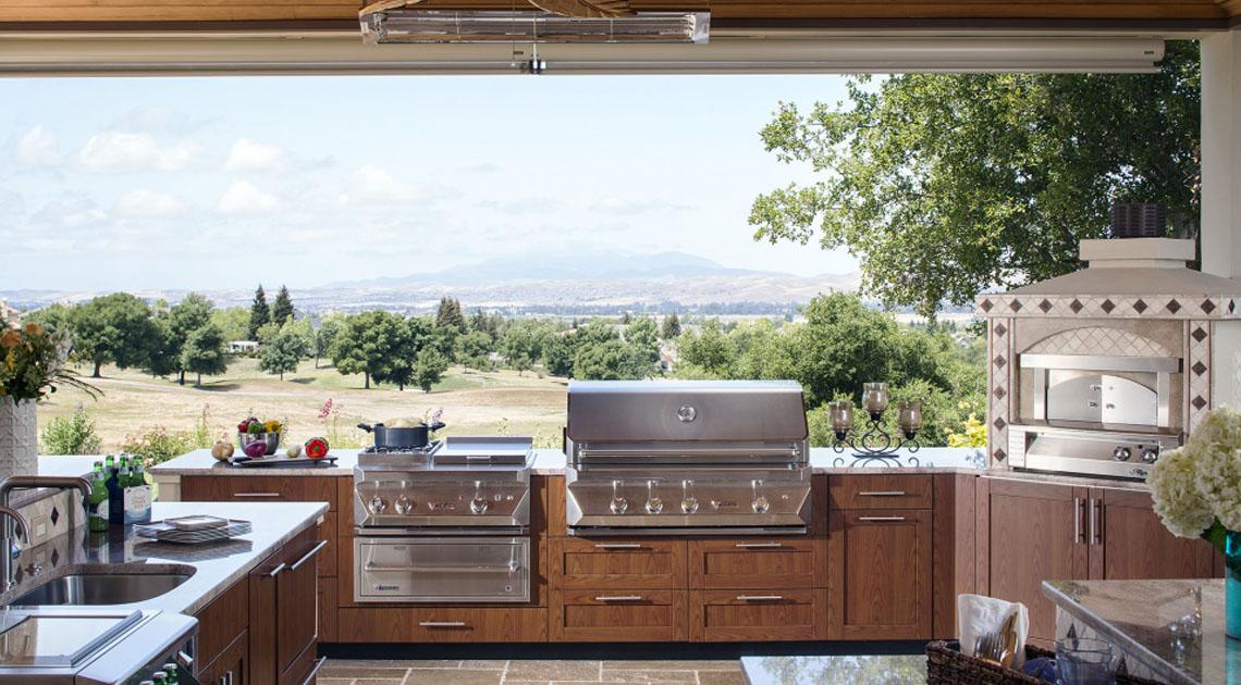 Outdoor kitchen design in san francisco gilmans for Kitchen remodel san francisco
