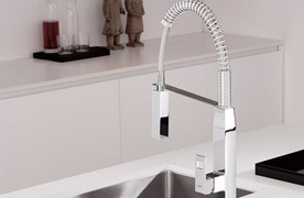 Accessories & Plumbing Fixtures Silver and New Design Faucet