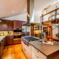 Modern style residential kitchen remodel