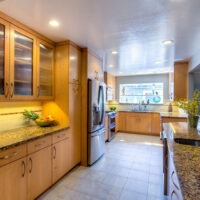 Transitional Galley Kitchen Remodel