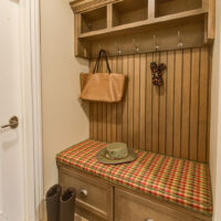 Traditional Kitchen Mud Room Cabinetry