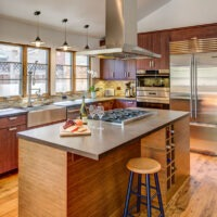 Modern style residential kitchen remodel 2