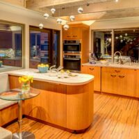 Eclectic Residential Remodels Banquette in Kitchen 2