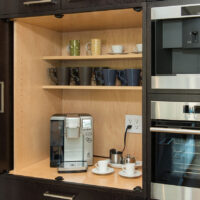 Custom Cabinet for Coffee Station
