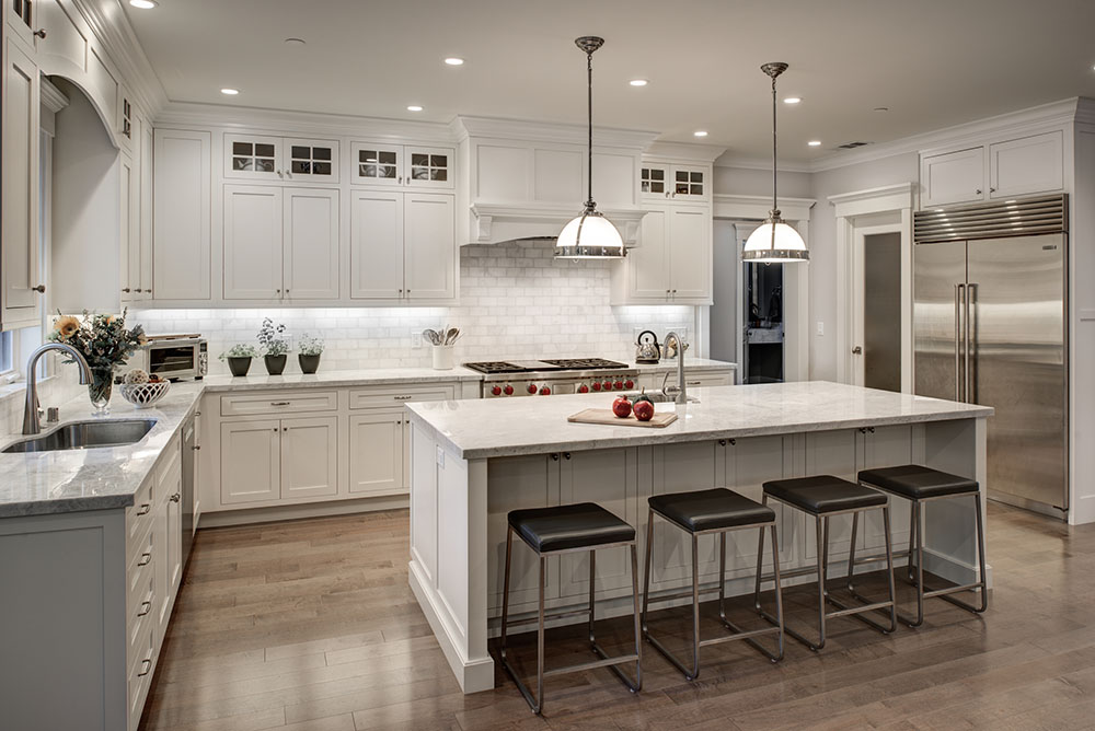 White Kitchens Custom Cabinets In San Francisco Gilmans