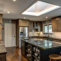 Hints of Traditional Kitchen Cabinet Remodel