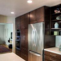 Gilmans Kitchens and Baths Rift Oak Kitchen