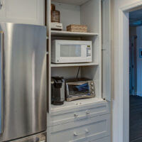 Award Winning Spaces Custom Appliance Cabinet