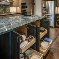 Transitional Kitchen Cabinet Remodel
