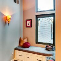Eclectic Residential Remodels Reading Nook