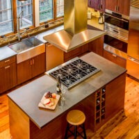 Modern style residential kitchen remodel 7