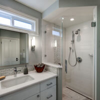 Award Winning Spaces Contemporary Bathroom White