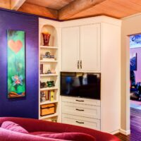 Eclectic Residential Remodels Game Room