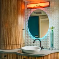 Eclectic Residential Remodels Powder Room 1