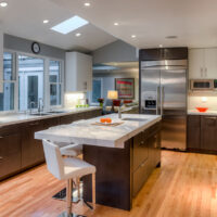 Gilmans Kitchens and Baths Contemporary Two Tone Kitchen