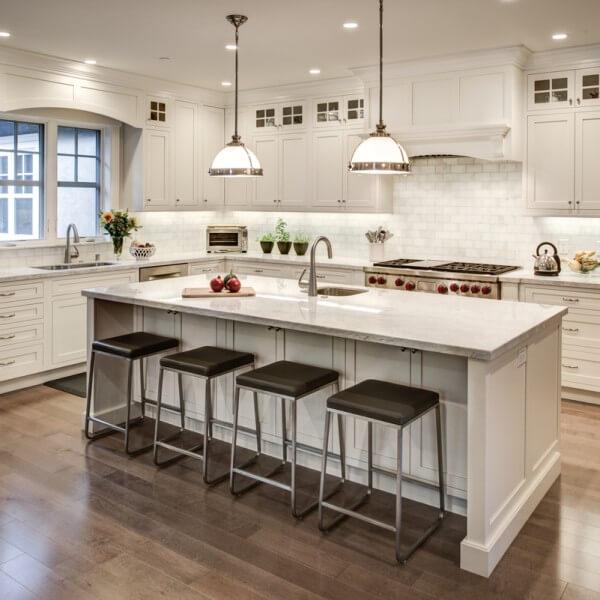 White Kitchens Seena