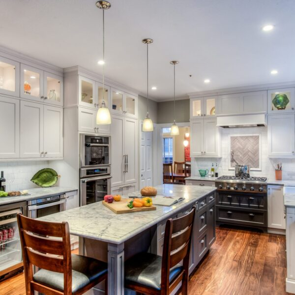 Traditional Kitchens White Cabinetry Design