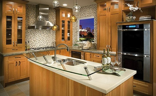 DeWils Kitchen Design With Brown