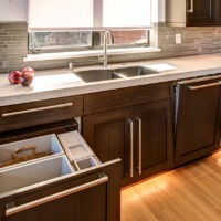 Dewils Kitchen Cabinets with Brown Cabinets