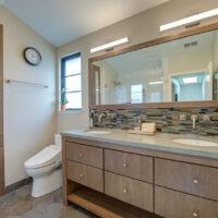 Dura Supreme Brown Bathroom Cabinet