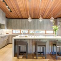 Alternative Cabinet Materials Oak Cabinets and Countertops Full View