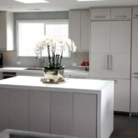 Alternative Cabinet Materials White Cabinets and Countertops