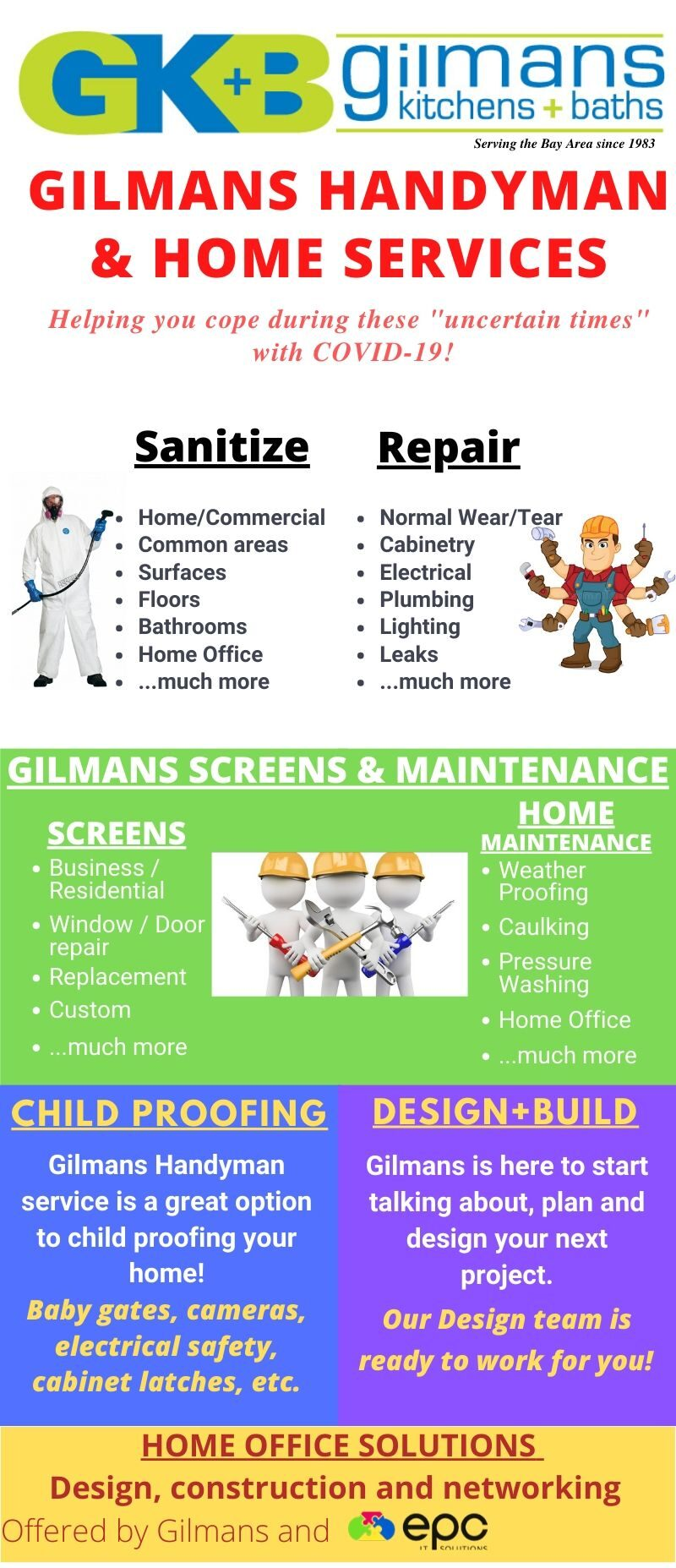 GK&B Handyman and Home Services